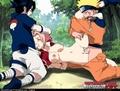 Naruto and sasuke x sakura