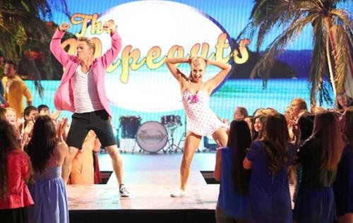 Dancing With The Stars fondo de pantalla called Nastia & Derek - Week 6