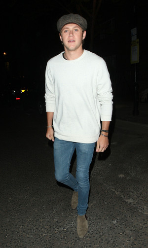 Niall Leaving the Studio