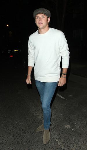 Niall Leaving the Studio