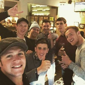 Niall and friends