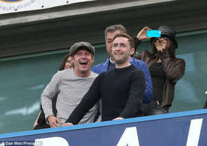 Niall at Chelsea vs Crystal Palace match