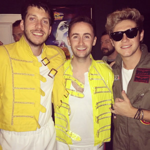 Niall at Laura Whitmore's party