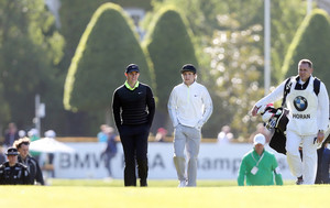 Niall at Wentworth Golfcourse Pro Am