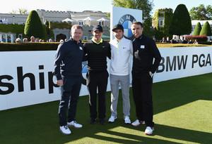 Niall at the BMW PGA Championship