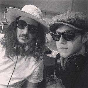 Niall in the studio