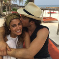 Nikki Reed and Ian Somerhalder at their honeymoon