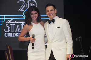 Nikki Yanofsky with Rick Campanelli at Starlight Foundation 20th Anniversary Gala