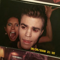 Nina Dobrev and Paul Wesley  - the-vampire-diaries-tv-show photo