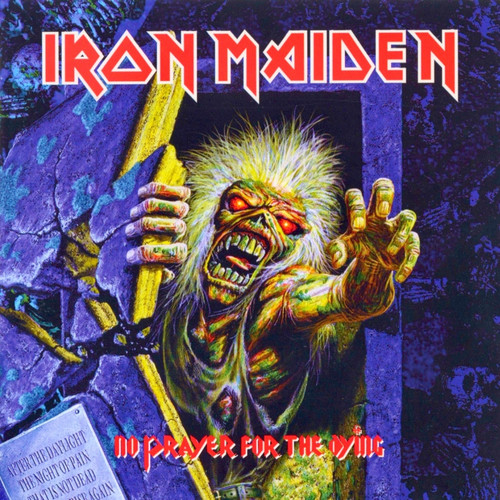 Iron Maiden wallpaper containing anime called No Prayer for the Dying (Remaster)