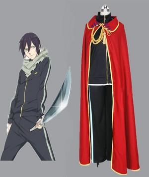 Noragami Yato mantello Full cosplay costume