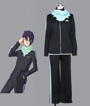noragami Yato Sport clothes cosplay costume