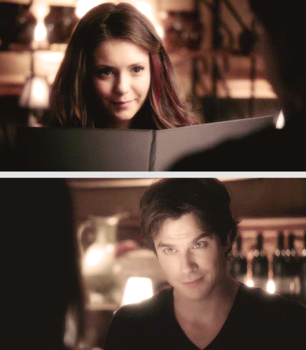 Elena In The Show Damon Does Dating