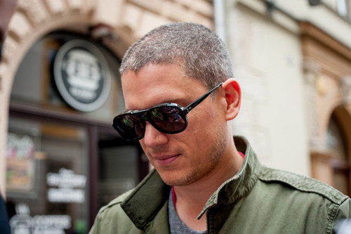 Wentworth Miller Hintergrund containing a green beret, fatigues, ermüden, and ermüdet entitled Off Camera International Festival of Independent Cinema - May 7 2015