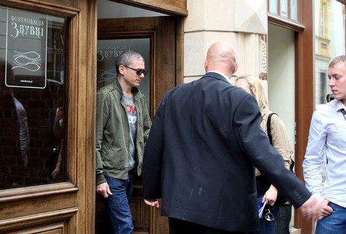 Wentworth Miller Hintergrund probably containing a business suit and a revolving door titled Off Camera International Festival of Independent Cinema - May 7 2015