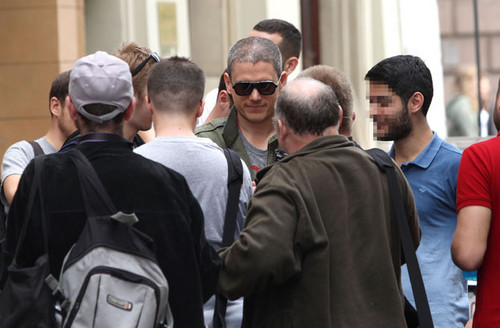 Wentworth Miller Hintergrund probably with a straße entitled Off Camera International Festival of Independent Cinema - May 7 2015