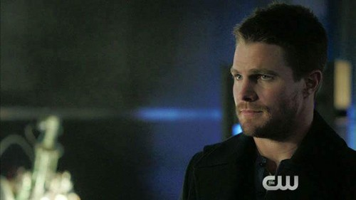 Oliver & Felicity achtergrond possibly with a concert entitled Oliver Queen