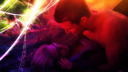 Oliver & Felicity achtergrond called Oliver and Felicity achtergrond