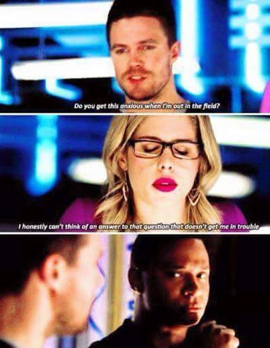 Oliver & Felicity Hintergrund possibly containing a portrait and Anime called Oliver and Felicity