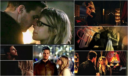 Oliver & Felicity wallpaper called Oliver and Felicity