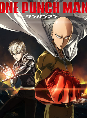 One coup de poing Man (anime poster)