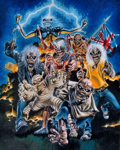 Iron Maiden wallpaper with anime called Original Artwork