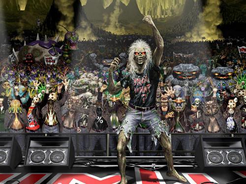 Iron Maiden wallpaper titled Original Artwork