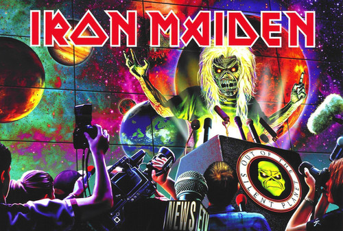 Iron Maiden wallpaper with anime titled Original Artwork