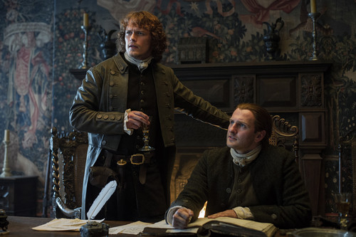 Outlander 2014 TV Series karatasi la kupamba ukuta titled Outlander - Episode 1.12 - Lallybroch