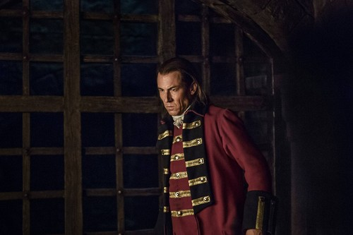 Outlander 2014 TV Series karatasi la kupamba ukuta probably containing a full dress uniform and dress blues called Outlander - Episode 1.15 - Wentworth Prison