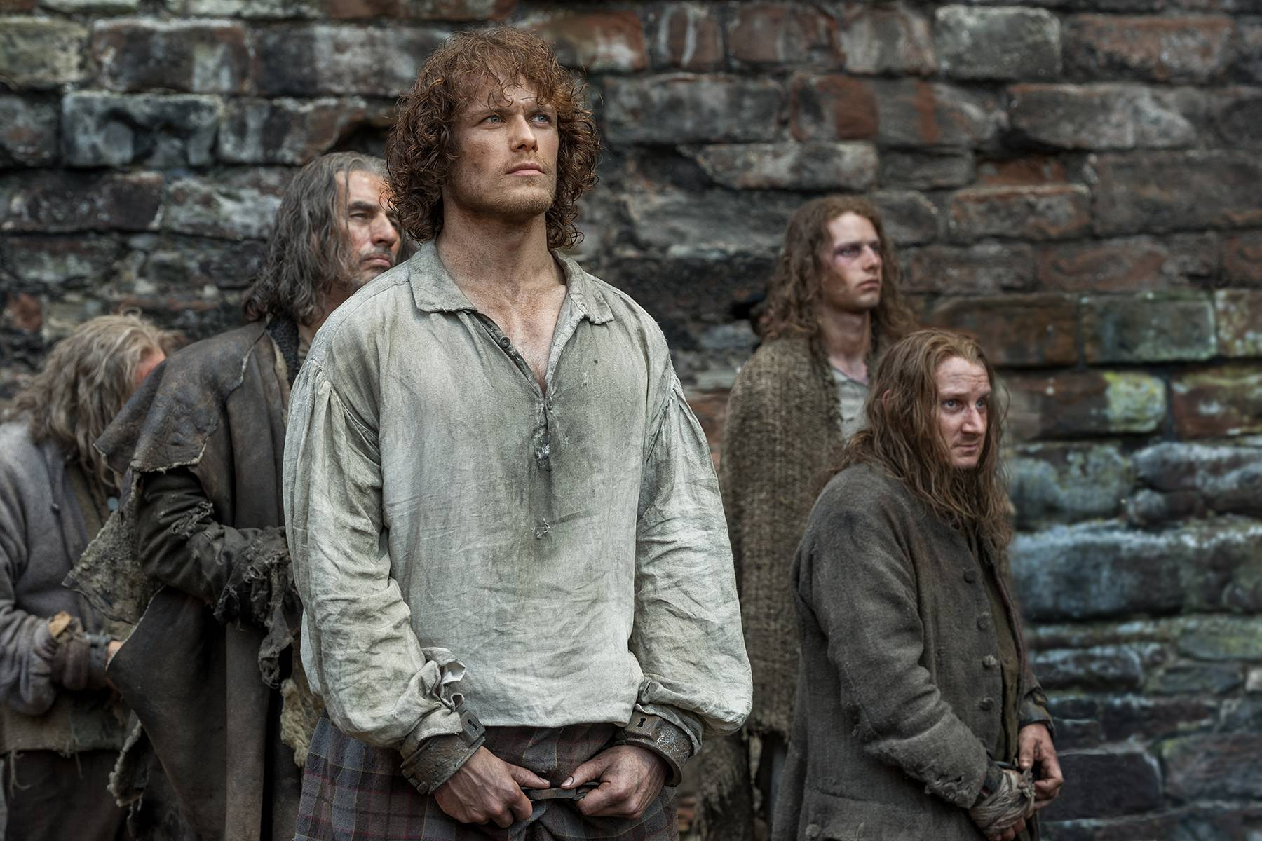 Outlander - Episode 1 15 - Wentworth Prison - Outlander 2014 TV Series    Outlander Tv Series