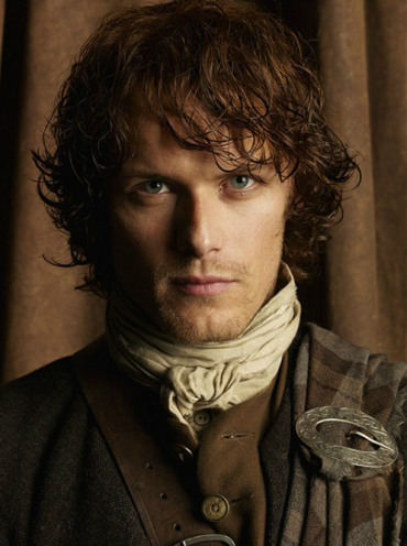 Outlander 2014 TV Series پیپر وال titled Outlander Season 1 Jamie Fraser Official Picture