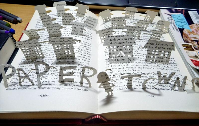 Книга из бумаги фото