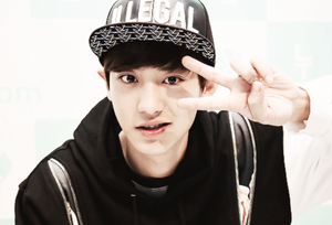 Park Chanyeol peace