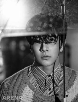 Park Sang Hyun for 'Arena'