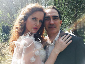 Patrick Fischler and Rebecca Mader