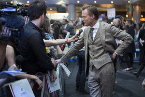 Paul Bettany aka Vision Red Carpet at Avengers Age of Ultron UK Premiere