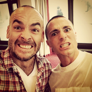 Paul Blackthorne and Colton Haynes