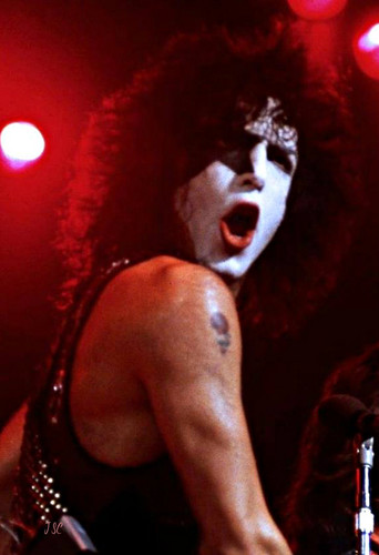 KISS پیپر وال with a کنسرٹ titled Paul Stanley 1979
