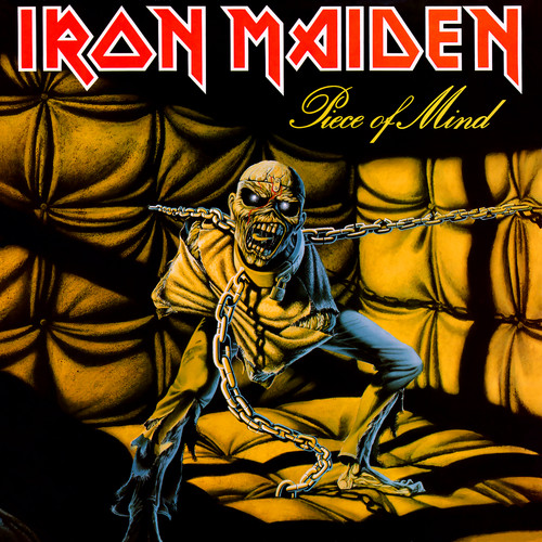 iron maiden wallpaper containing anime titled Piece of Mind