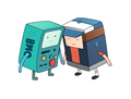 Pine Box - adventure-time-with-finn-and-jake fan art
