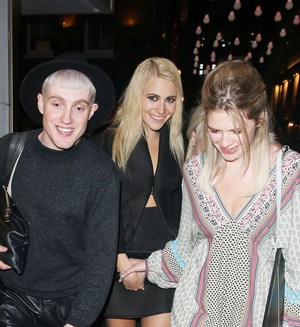 Pixie Leaving Cirque le Soir Nightclub