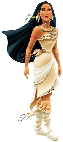 Disney Princess wallpaper possibly containing a cocktail dress called Pocahontas Redesign HQ