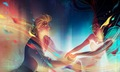 Pocahontas and John Smith - disney-princess fan art