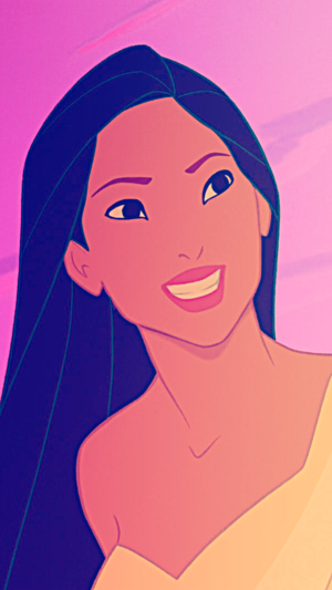 Pocahontas iPhone 5 Background