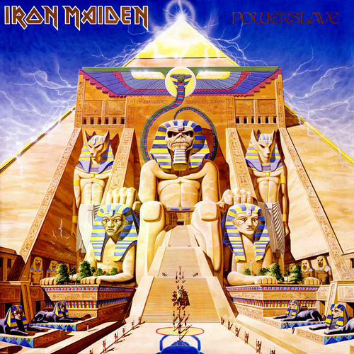 Iron Maiden wallpaper entitled Powerslave
