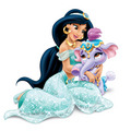 Princess Jasmine's new pet