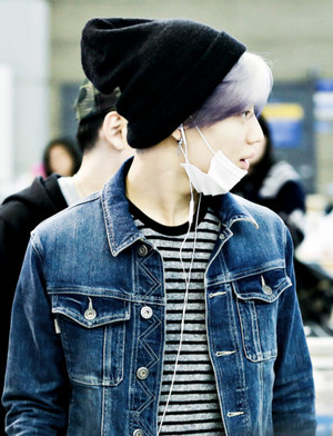 Purple hair Taemin 2015