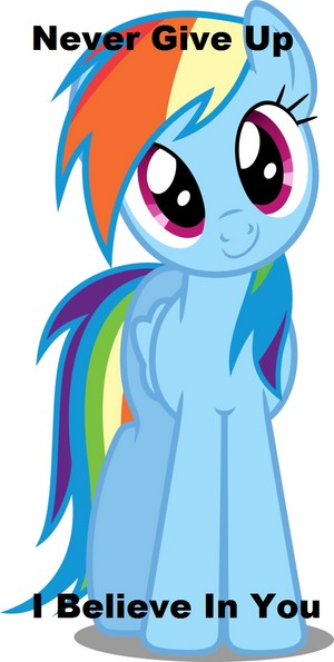 Rainbow Dash Believes In You