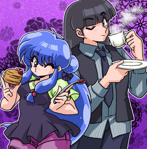 Ranma 1/2 Shampoo and mousse